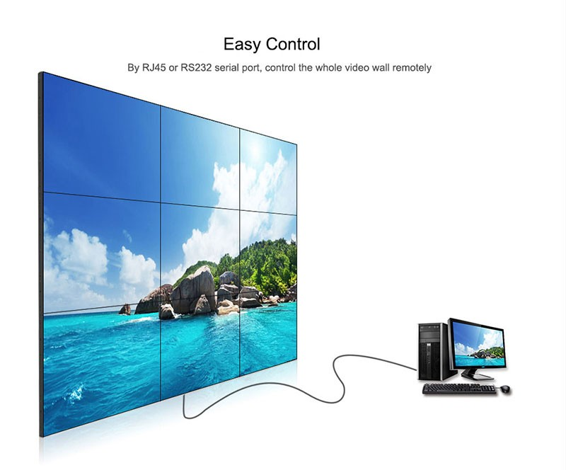 Hot Sale 55 Quot Led Display Big Screen Video Wall Lcd Display