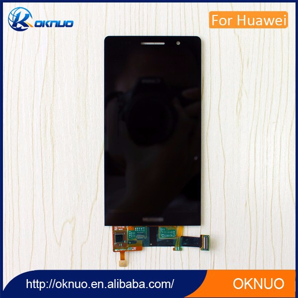 china mobile phone lcd display manufacturer for huawei ascend p6 lcd and digitizer/.