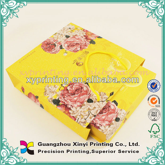 Handmade Design Hs Code Paper Bag For Tea