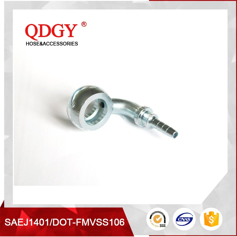 Stainless steel braided brake hose fittings banjo fitting