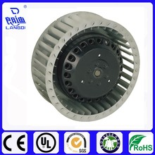 AC133mm mini CE approved 230V Single Inlet Forward Curve Centrifugal Metal fan with external rotor motor