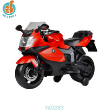 Licensed K1300S motorcycle children motor car toy with music and lights WD283
