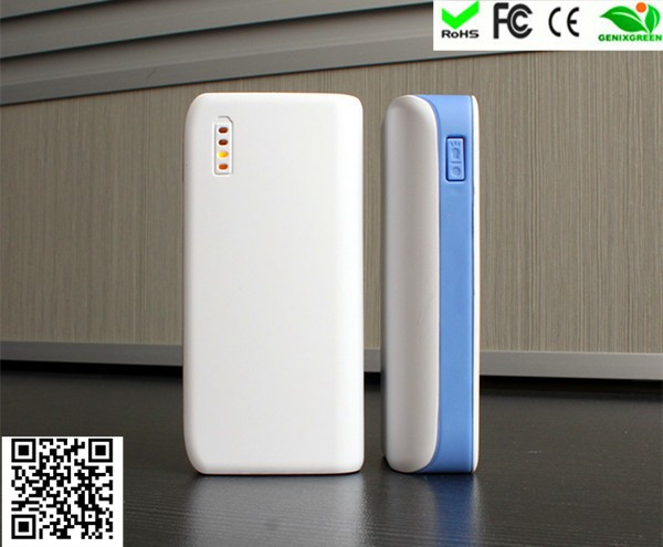 2015 top selling in USA portable power source 4400 mah dual usb power bank for mobile phone
