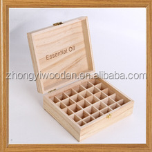 2016 year china factory suppliers FSC 30ml Essential oil bottle wooden storage box