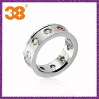 hot sale jewellry men precious stone rings/newest design couple rings