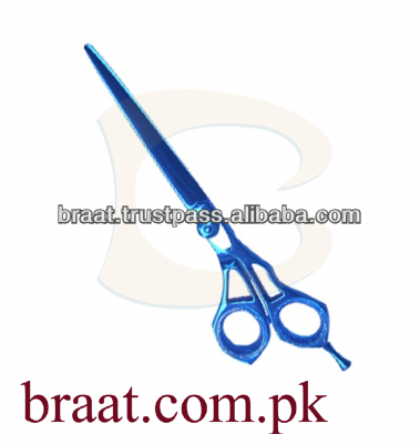 serrated hair scissors safety hair cutting scissors