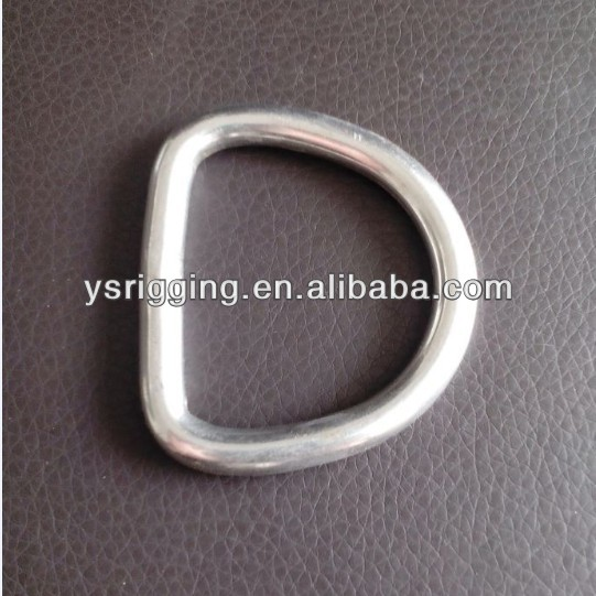 Stainless steel Welded D Ring for bags manufacturer