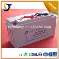 high efficiency gel 12v 180ah lead acid battery