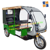 2016 Newest luxury electric tricycle for passenger taxi rickshaw, 60v 1200W MAGNET MOTOR
