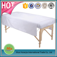 Beauty salon/spa cotton/polyester single fitted massage table sheet/cover