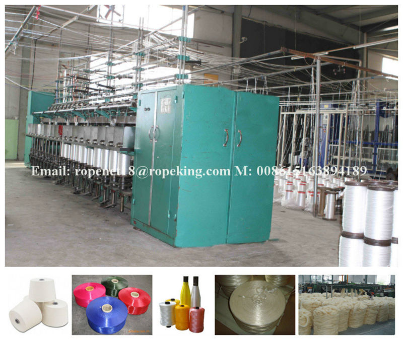 Nylon Fiber/ yarn/ thread/twine/string/rope twisting making machine
