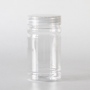 Good product wholesale cheap clear plastic candy jar with lid