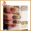 3D Nail Art Stickers Decals Different Designs Tip Guide Nail Self-adhesive Sticker Easy Nail Art Set for Finger or Toe