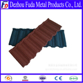 0.4mm Thickness Stone Coated Metal Roof Tile Manufacturer