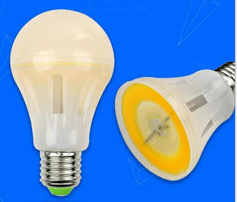 crystal dimmable 3w mcob led bulb lamp 360degree 130lm/W