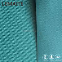 100% Polyester Fabric PVC Coat Blue Solid Pattern 600D Tent Waterproof Polyester Fabric