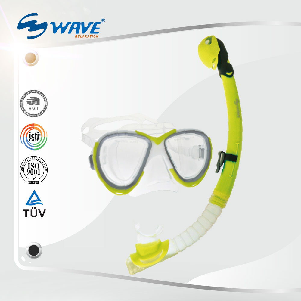 Water Sports Diving Breathing Mask And Snorkel For Youth