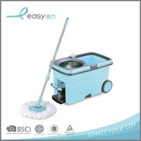 Easy Life Swivel Day Spin And Go Mop With Wheels & Bottle