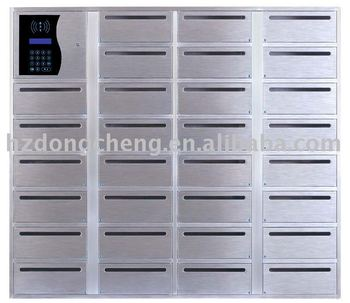 32 openings Stainless steel Electronic Mailbox