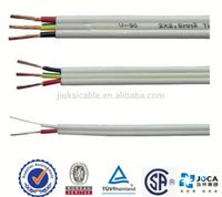 Flat TPS Cable PVC 450/750 2C Copper, AS/NZS 5000.2, 300/500V pvc cover flat tps cable