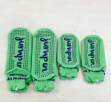 High Quality Polyester Anti-skid Socks with Grip,Kid Custom Grip Socks Trampoline Sock