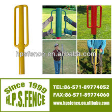China Supplier electric fence Heavy duty metal construction star picket thumper for fence post
