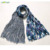 2017 Trending Wholesale Products Oversize Custom Print Cotton and Hemp Scarf