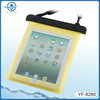 hot selling pvc waterproof bag for ipad and similar 10 inch tablet