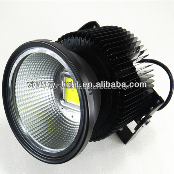 black frame ac85-277v cob 150W 200W 300W 400W highbay ip65 LED spotlight projector