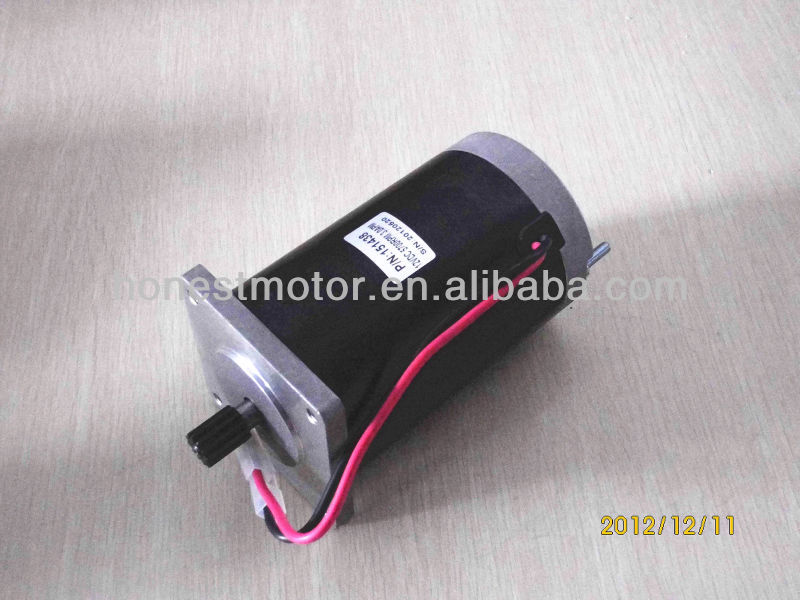 Permanent Brush Chisel ice machine 12V DC Electric motor