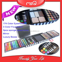 MSQ 2016 New Wholesale Private Label Makeup 177 Colors Eyeshadow Palette