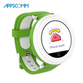 APPSCOMM 2018 Smart Watch Water-resistant GPS Tracker Wristwatches Real Time Positioning Smart Watch Phone for Child