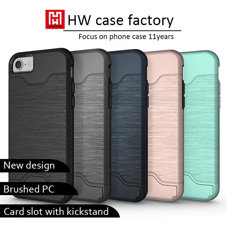 New Arrival TPU PC Phone Case For i7, OEM Pattern Can Be Available