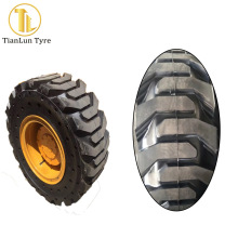 Chinese tyre prices 10-16.5 bobcat solid tire with cheap price