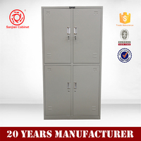 4 door Metal Office Furniture Vertical File Cabinet Design digital locker