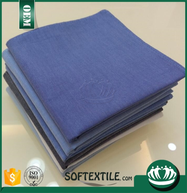 The export of cotton, environmental protection, clean small square men's handkerchief