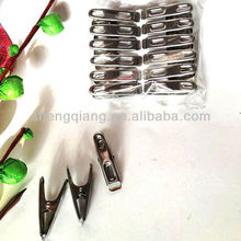 12pcs Stainless Steel Cloth Pegs