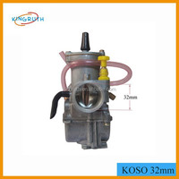 KOSO Carburetor With Power jet High Performance Racing OKO Carburetor 32mm Fit To 150cc 200cc Scooter Motorcycle GY6