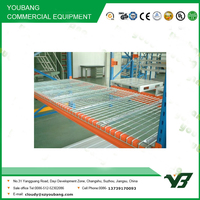 Hot sell 2016 cheapest muti lever heavy duty steel pallet rack with wire mesh, storage rack (YB-WR-C105)