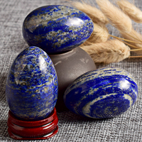 Hot sell Lapis lazuli. wholesale Natural carved Quartz Crystal Lapis lazuli Yoni Eggs for sell.Yoni egg for woman practice