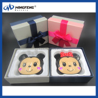 Fashion cute mickey mouse harga power bank 5200mah