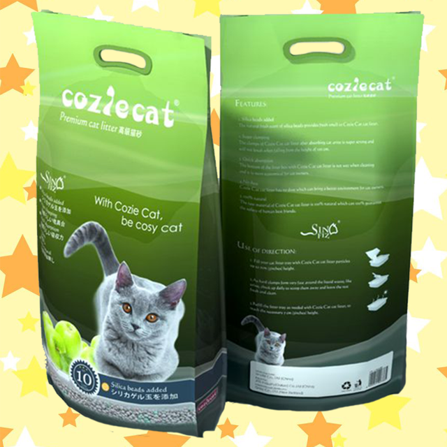 effective smell absorption does not stick to hair relatively low dust inorganic cat litter