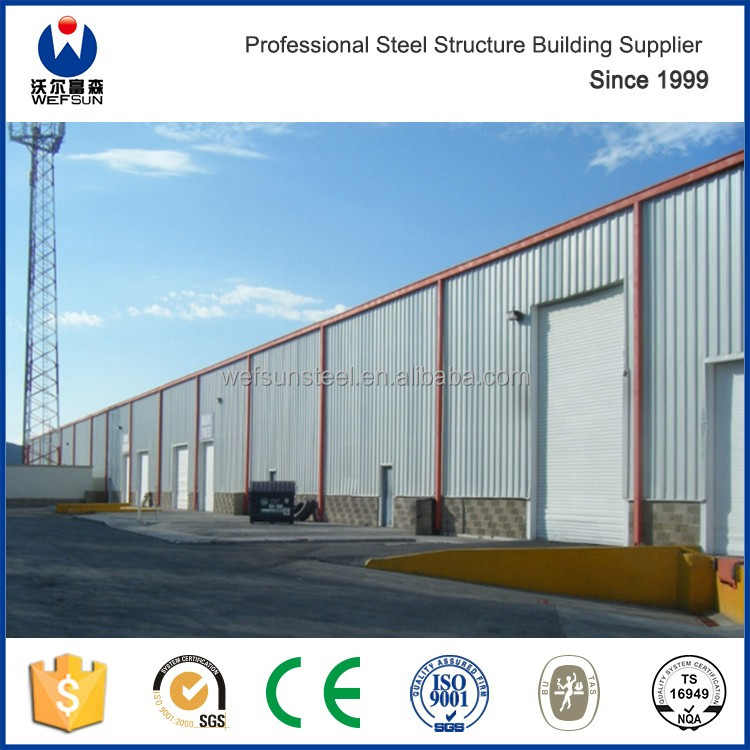 Hot sale good quantity Steel structure ware house large span