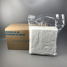 Clase 1000 210gsm 9 ''x 9'' microdenier limpiador clean room