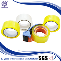 china oem factory 65mt heavy-duty transparent sellotape