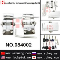 Auto locksmith tools for multi-functional key cutting machine clamp for universal keys/084002