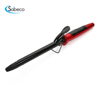 Sabeco professional salon ceramic coated magic hair curler curling iron rollers