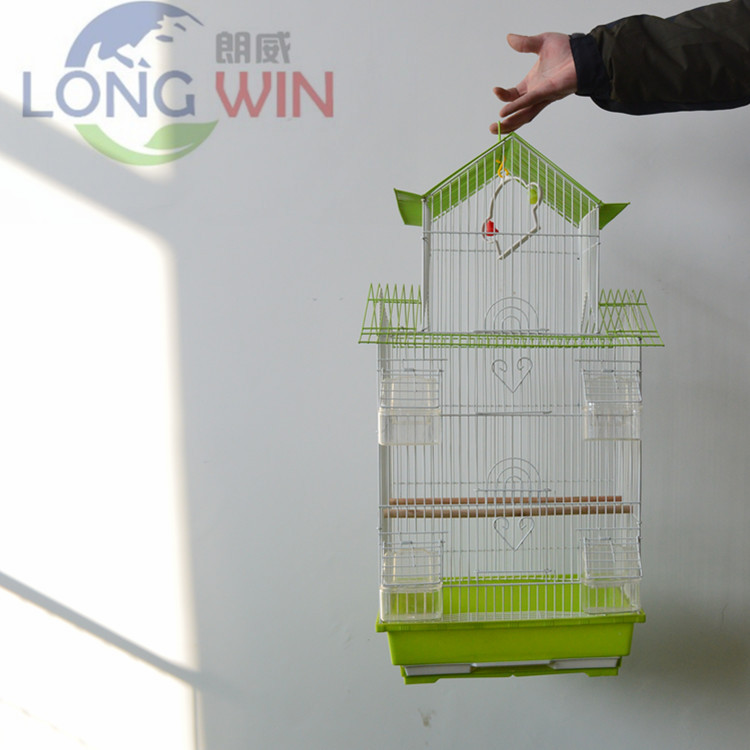 Metal parrot canary wire mesh bird cage