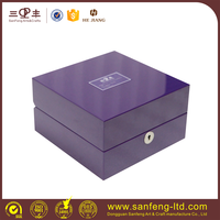 Hot selling Top and bottom design watch box OEM packaging