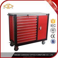 Ningbo Gangdao Hot sale tool box trolley tool cabinet manufacturer